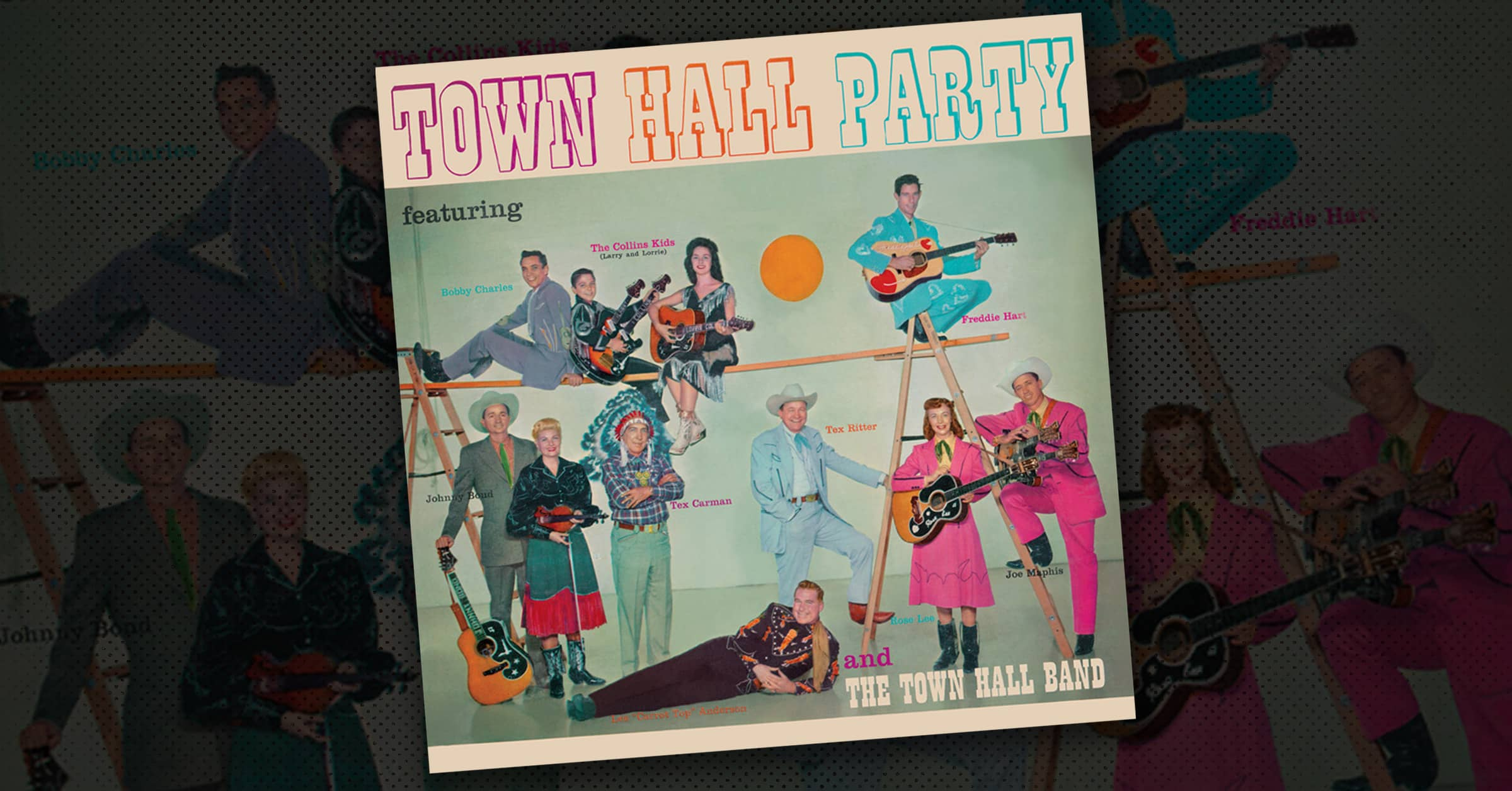 Town Hall Party Album Cover