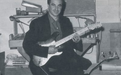 Rex Gallion and Stratocaster serial no. 001