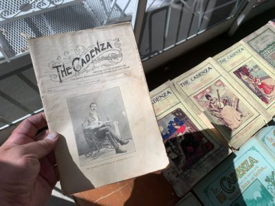 Music Magazines, early 1900s through the 1930s